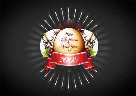 Wallpaper happy new year 2009