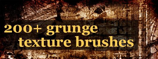 iGraphisme - Brushes gratuits Photoshop de textures grunge