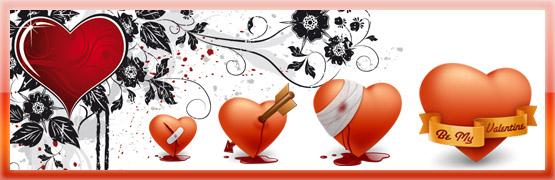 Igraphisme icones gratuites de coeurs pour la st valentin - Image st valentin gratuite ...