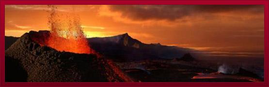 Images de volcans en éruption, éruptions volcaniques